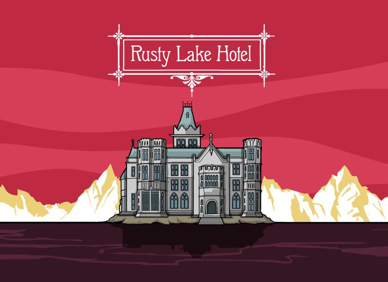 Steam喜加一:在《锈湖旅馆》里体验黑色童话风格故事
