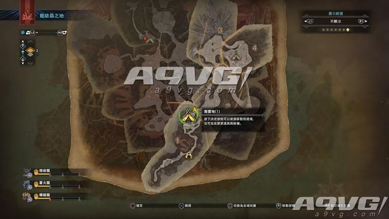 《怪物猎人世界》全营地位置一览 MHW所有营地在哪里