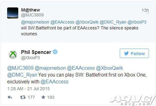 Xbox One玩家可率先体验到《星球大战:前线》