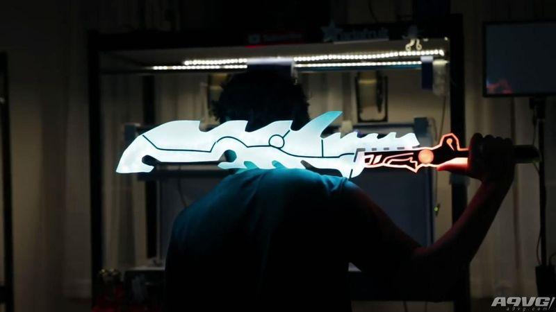 玩家用3D打印制作《塞尔达传说:荒野之息》守护者之剑