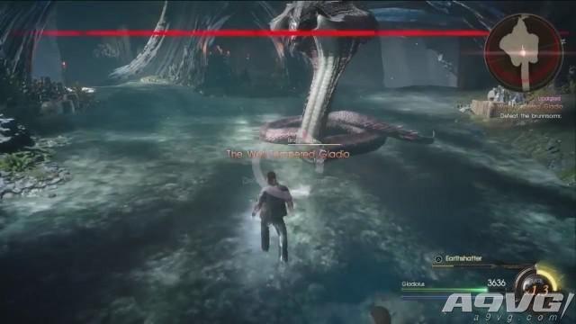 《最终幻想15》DLC格拉迪欧篇15分钟试玩视频 战斗和UI均有改变