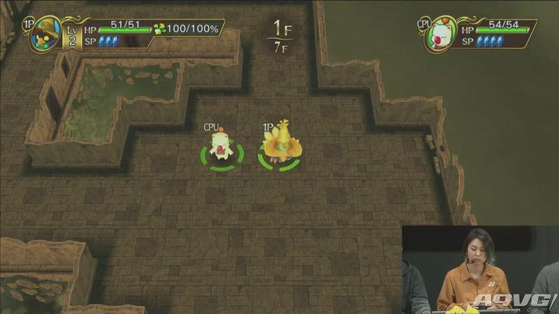 《陆行鸟不可思议迷宫 Every Buddy》实机游玩演示视频