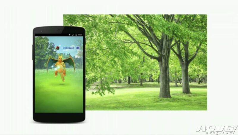 口袋妖怪新作公布《口袋妖怪GO》 2016年登陆智能平台