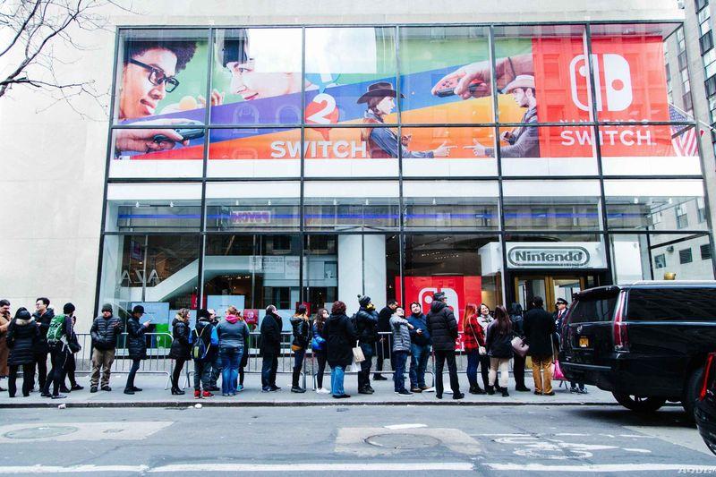 任天堂拟将下一财年Switch产量提高一倍 达到1600万台