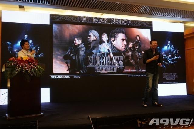 《最终幻想15:王者之剑》举办北京特效分享会 顶尖视效制作过程首揭秘