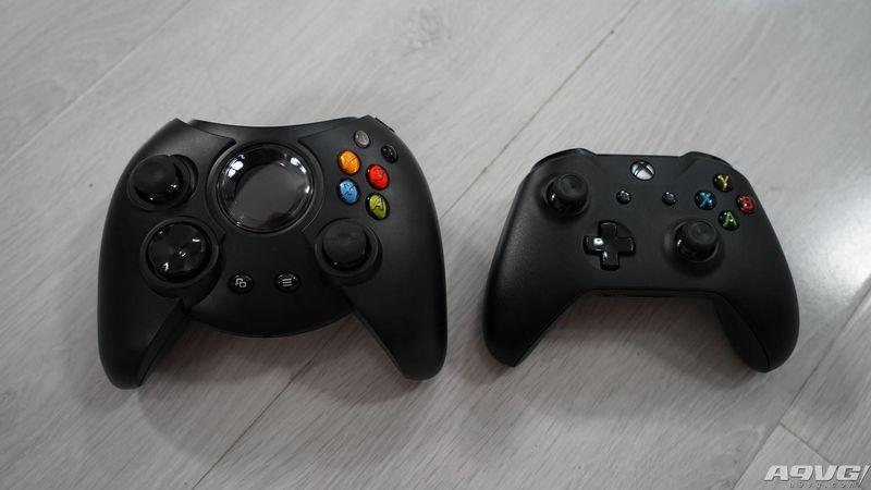 还是那么大!初代Xbox手柄「Duke」复刻版开箱与详解