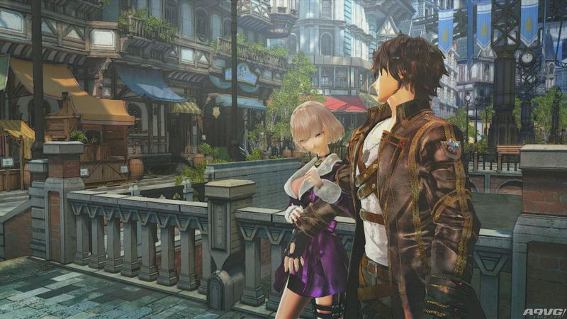 《苍蓝革命之女武神》PS4高清新截图公布 发售日1月19日