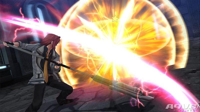 《英雄传说 闪之轨迹4》新清晰画面 提欧与兰迪以及新系统
