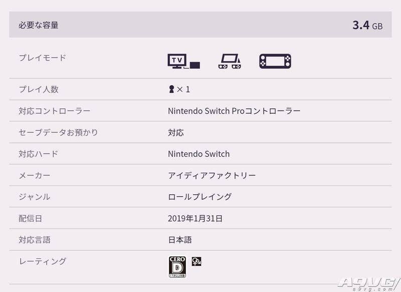 《限界凸记 萌萌编年史H》登陆Switch平台 预约购买只要7折