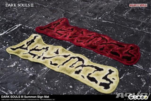豆鱼雷推出《黑暗之魂》新周边 召唤印样式地垫