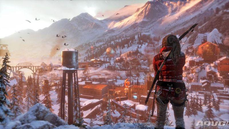 《古墓丽影:崛起》将在2016年底登陆PS4平台