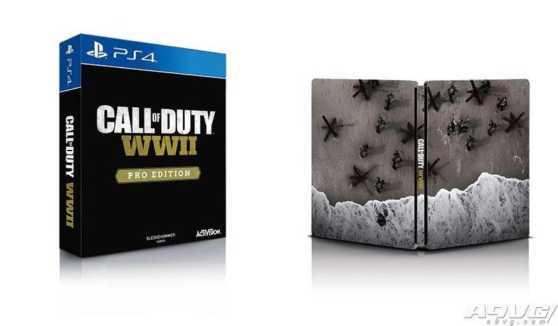 《使命召唤:二战》中文版11月3日同步发售 铁盒版详情公布