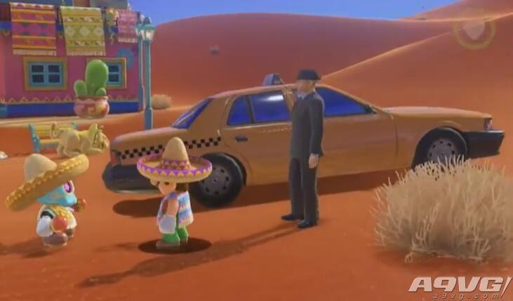 《超级马里奥:奥德赛》出租车和沙之旅人任务线位置攻略