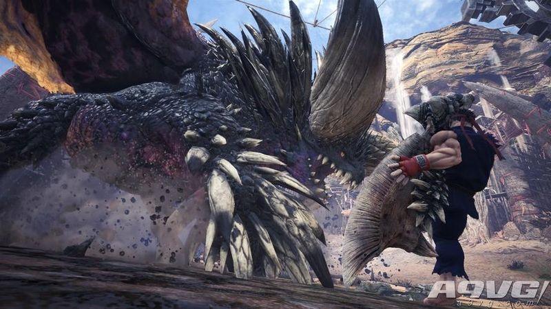 《怪物猎人世界》与《街头霸王5》联动第三弹 杀意隆登场