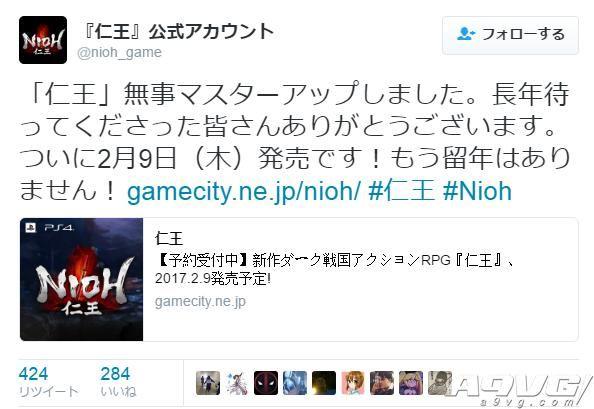 《仁王》开发完成 2月9日绝不延期! 新视频公布