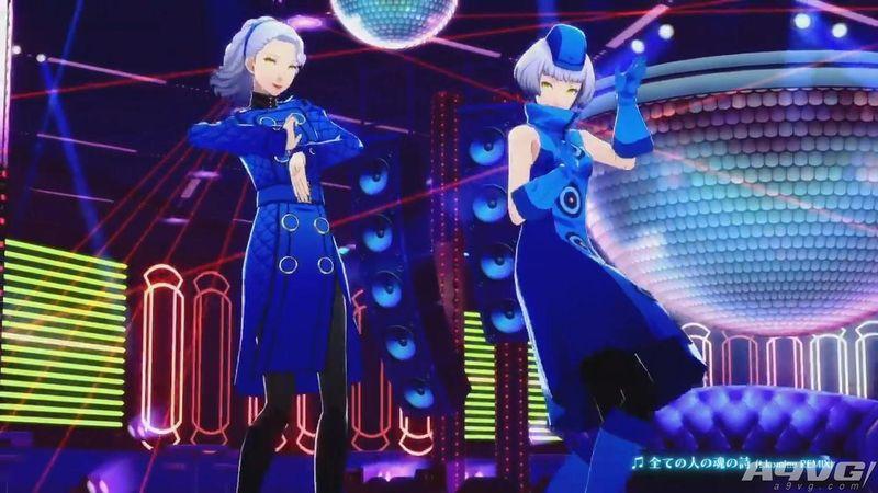 《女神异闻录5舞动星夜》双子《P3D》伊丽莎白演示视频
