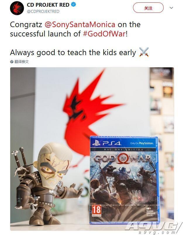 新《战神》发售后 国外各游戏工作室及制作人纷纷发表祝贺