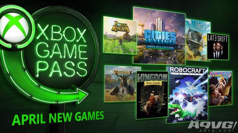 Xbox Game Pass 4月游戏阵容公布:城市天际线等加入
