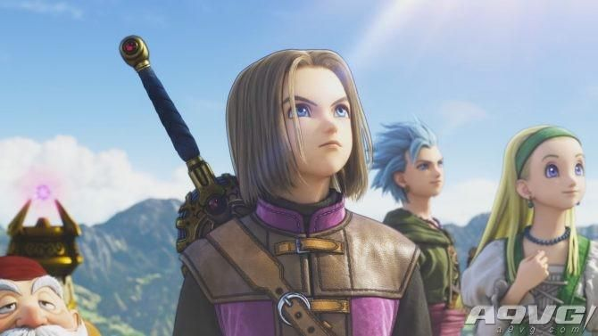 《勇者斗恶龙11》3DS和PS4版新试玩画面公开 发售日7月29日