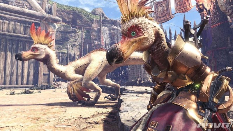 《怪物猎人世界》新活动任务公布 我们可以假装是搔鸟了