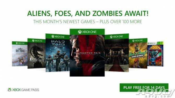 《合金装备V:幻痛》等大作加入Xbox Games Pass阵容