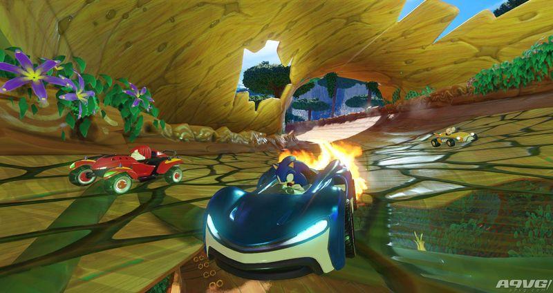 《组队索尼克赛车》泄露 登陆Switch平台支持4人分屏游玩