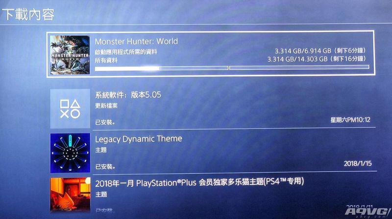 PSN港版《怪物猎人世界》现已开放预载 下载容量14.3GB