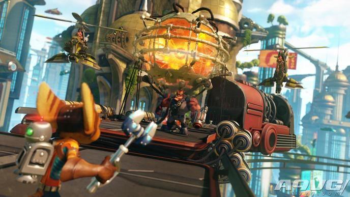 《瑞奇与叮当》宣布国行全球同步上市!4月12日发售