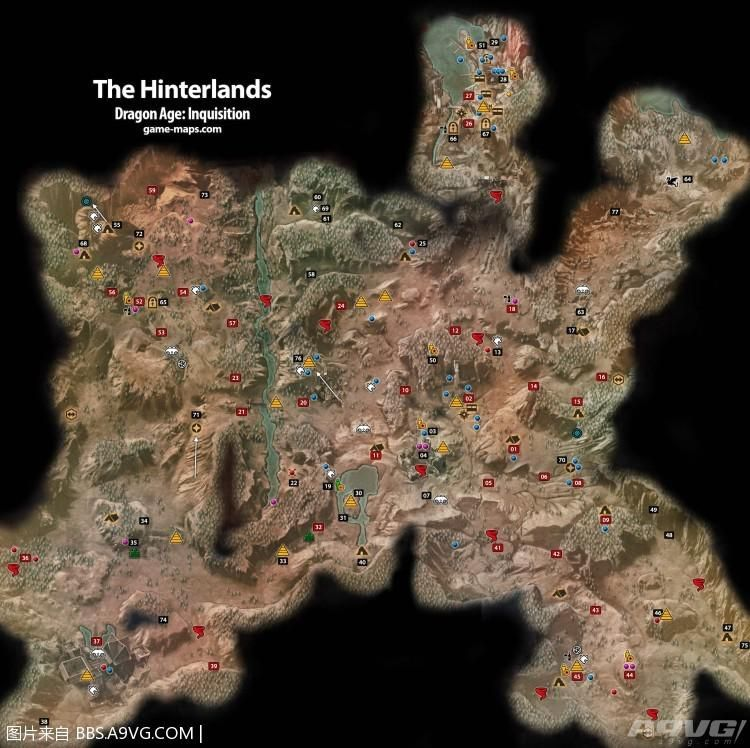 龙腾世纪3审判 地图整合