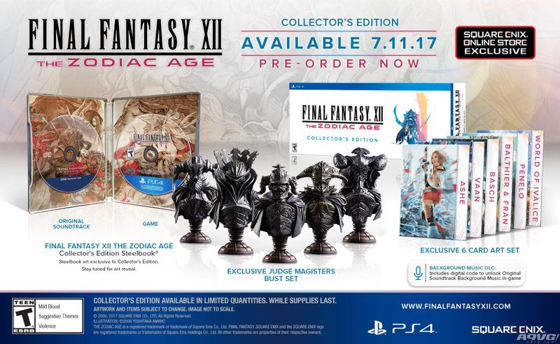 PS4《最终幻想12 黄道年代》最新试玩视频 画面及系统演示