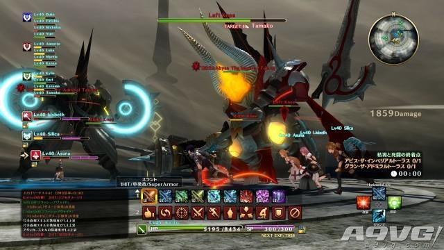 《刀剑神域:虚空幻界》新截图公布 发售日锁定10月27日