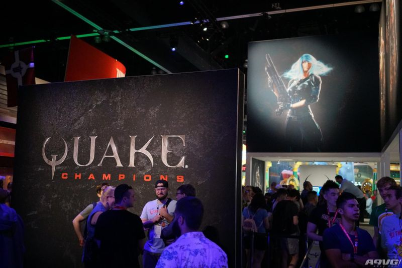 E3 2017贝塞斯达展台现场图集欣赏