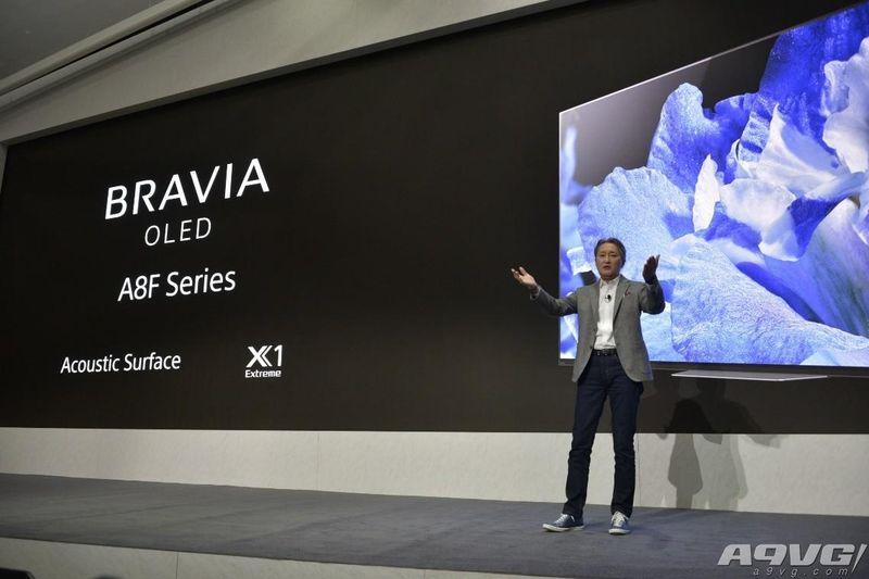 索尼CES展会重磅发布全新4K HDR OLED与液晶系列电视
