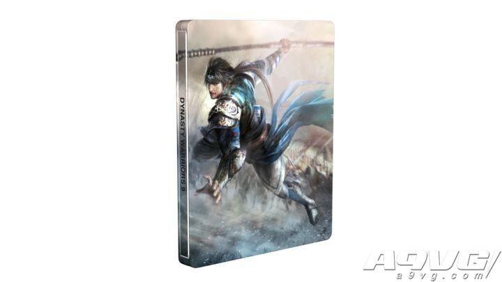 《真三国无双8》繁体中文版加送铁盒与女武将温感变装卡
