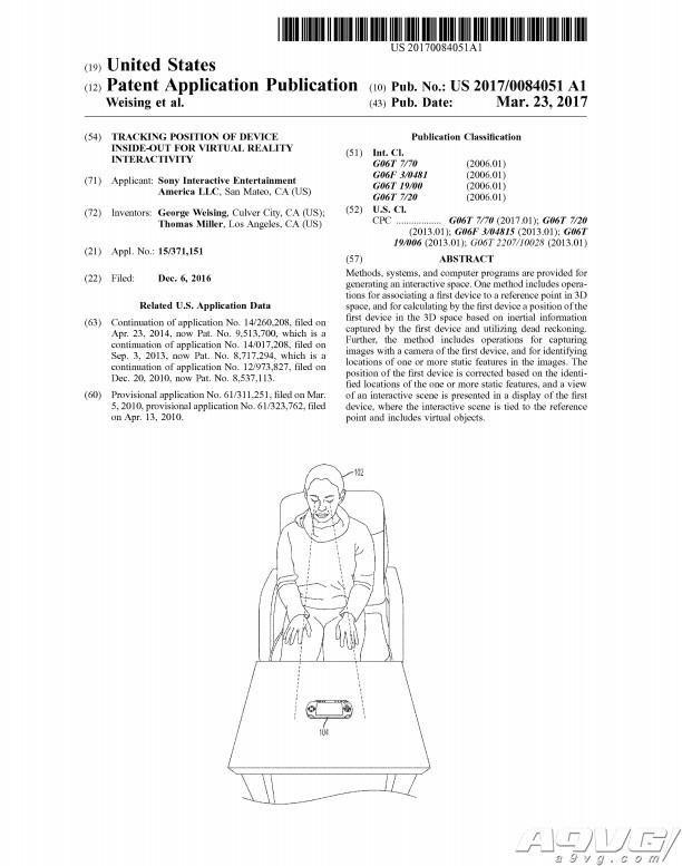 索尼通过新专利 PSVR或将与掌机联动