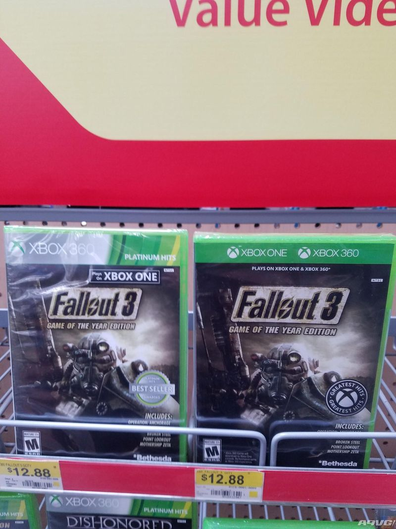 Xbox One向下兼容游戏新包装亮相