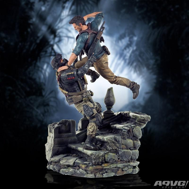 PlayStation Gear限量推出《神秘海域4》德雷克雕像