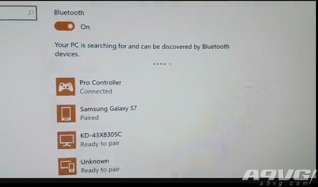 任天堂Switch Pro手柄可直接在PC上使用 通过蓝牙连接