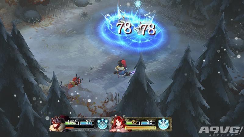 《祭品与雪的刹那瞬间》战斗系统与新角色介绍