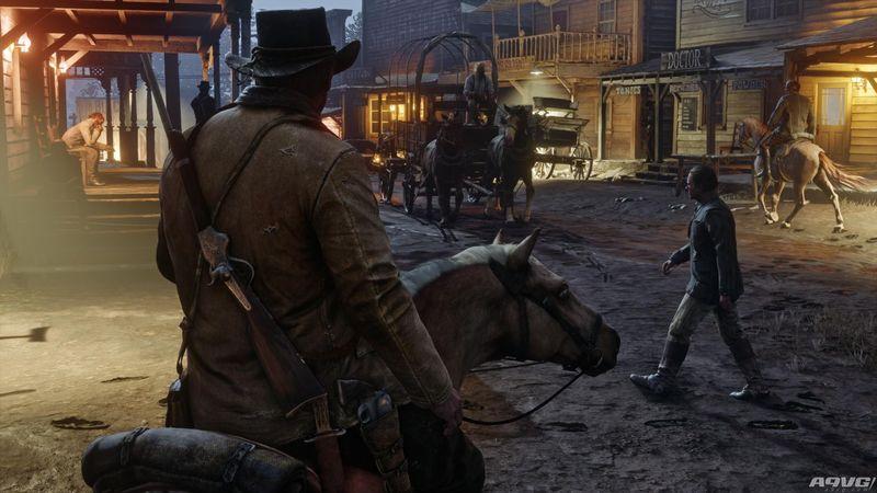 《荒野大镖客2》延期至2018年春季发售 全新游戏截图公布
