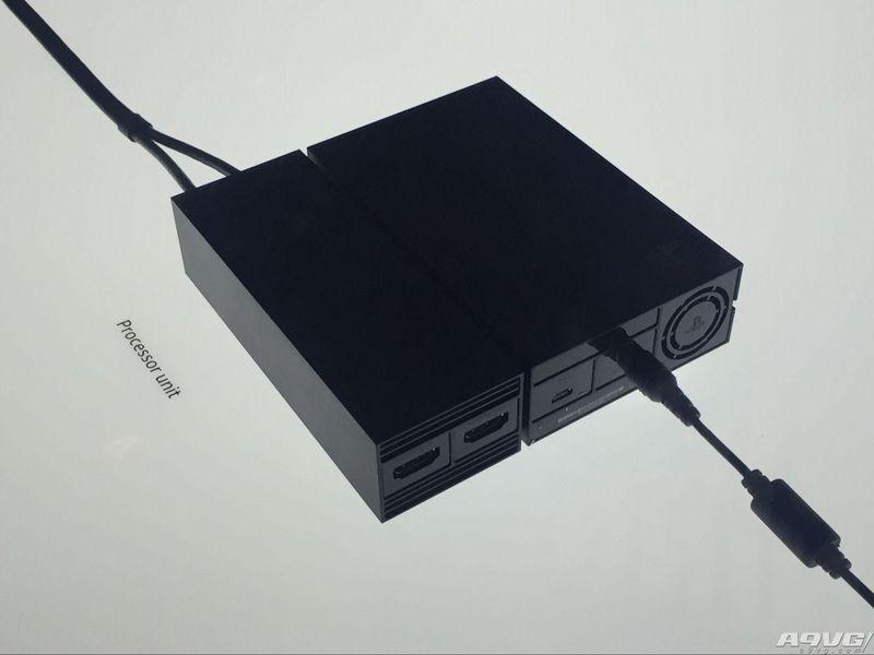 揭秘PS VR的处理器单元盒子:它不会增强PS4性能