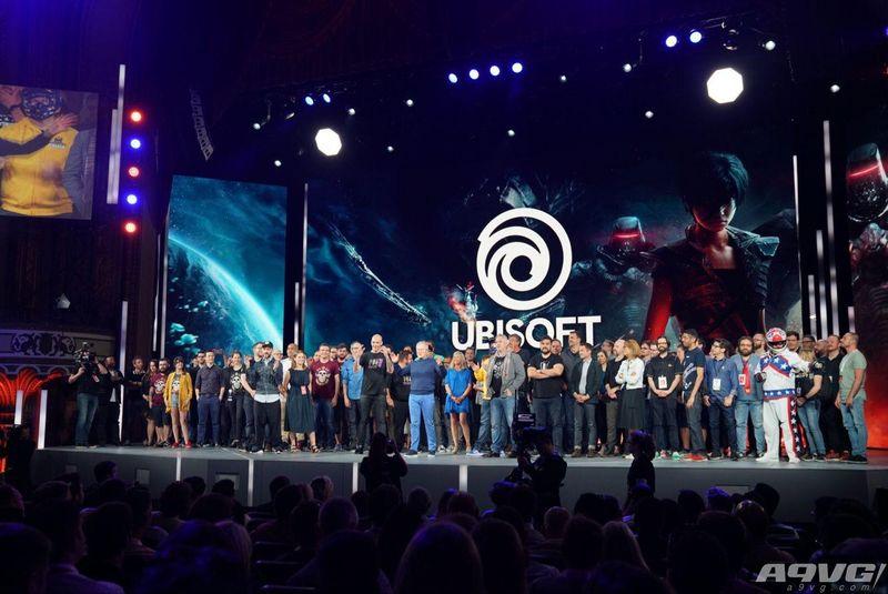 育碧E3 2018发布会现场图集  刺客信条、全境封锁2等展示