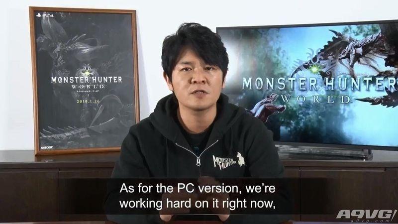 怪物猎人世界PC版预计2018年秋发售 主机版将推出免费DLC