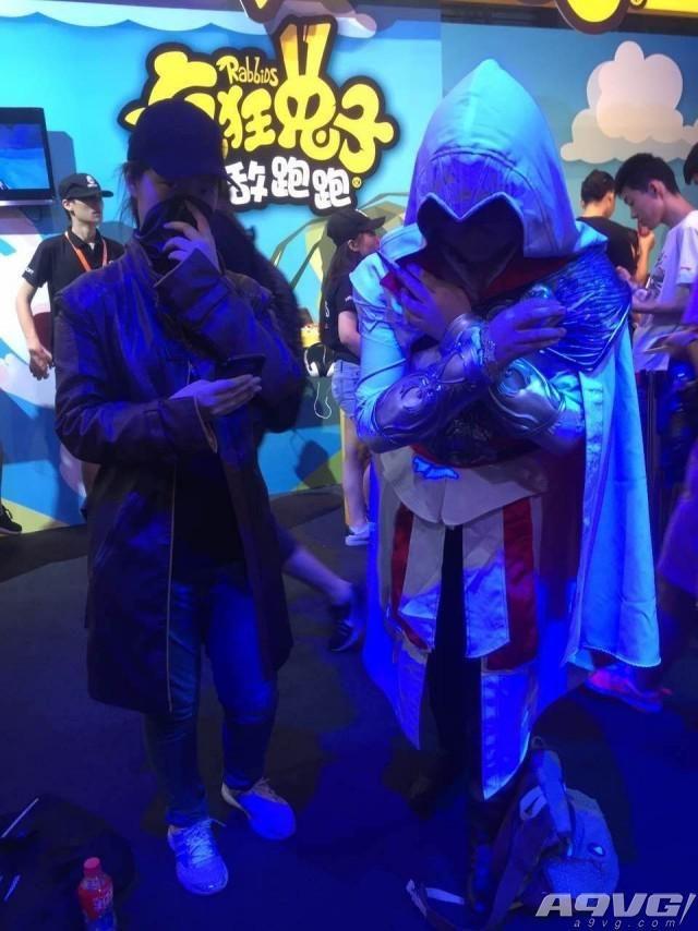 育碧展台CJ第二日 高温难挡玩家热情
