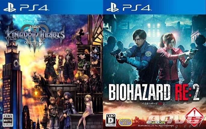 《王国之心3》日本首周销量61万力压《生化危机2重制版》