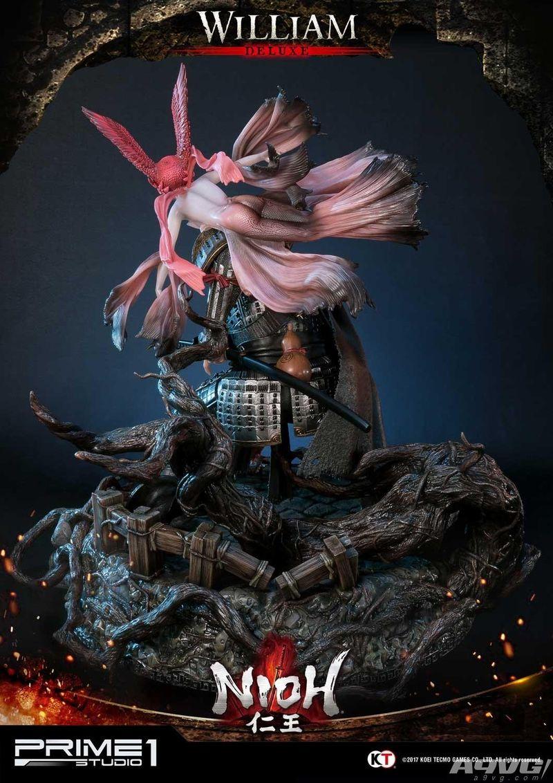 《仁王》威廉手办公开 豪华版附带守护灵售价高达10万日元