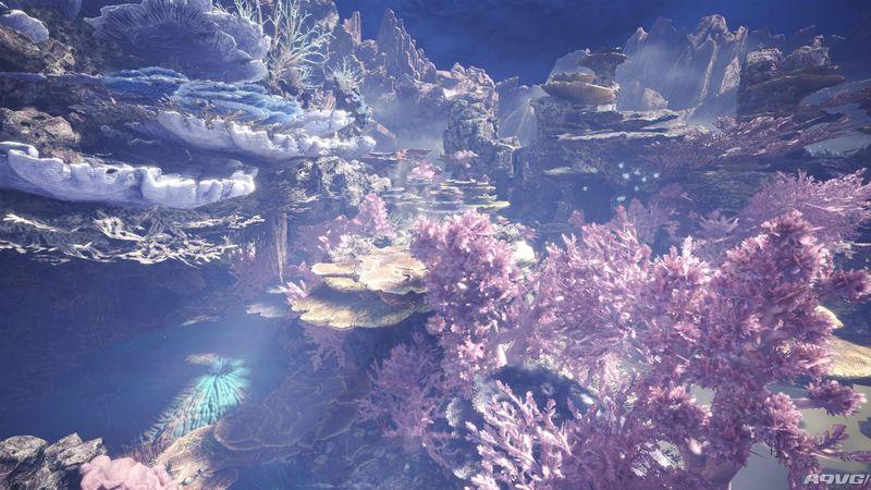 《怪物猎人世界》新地图陆珊瑚之台地和新怪物浮空龙演示