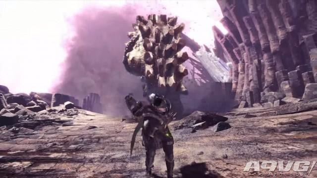 PSX2017《怪物猎人世界》新宣传片公布 将和洛克人联动