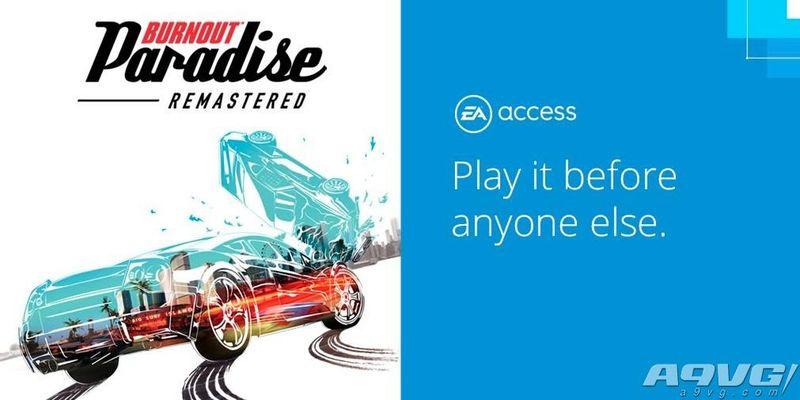 EA Access用户已可试玩《火爆狂飙:天堂》 存档可继承