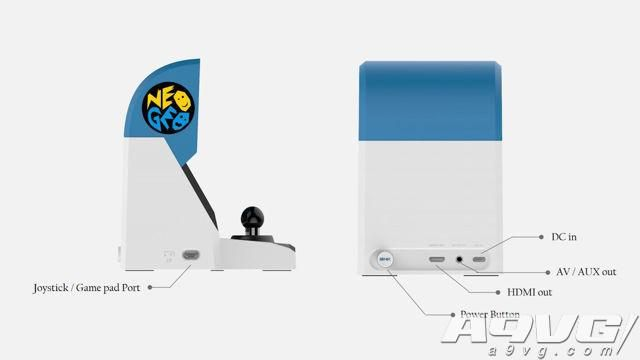SNK NEOGEO Mini提前泄露 收录拳皇系列在内共40款游戏